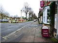 SP3509 : War memorial and bookshop, Church Green by Vieve Forward