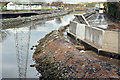 J3674 : Connswater path works, Belfast - January 2016(1) by Albert Bridge