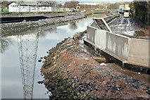 J3674 : Connswater path works, Belfast - January 2016(1) by Albert Bridge