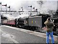 SD8010 : Flying Scotsman Pulls into Bolton Street Station by David Dixon