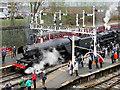 SD8010 : Flying Scotsman at Bury, Bolton Street Station by David Dixon