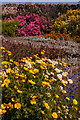 NU1341 : Walled garden, Lindisfarne Castle by Ian Capper