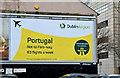 "J3373 : Dublin Airport ""Portugal"" poster, Belfast (January 2016) by Albert Bridge"