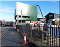 SK5803 : New stand at the Welford Road Stadium by Mat Fascione