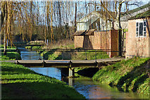 SK6514 : Bridge across Rearsby Brook in Rearsby by Mat Fascione