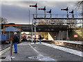 SD8010 : Signal Gantry and Jubilee Way Bridge, Bolton Street Station by David Dixon