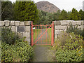 J3021 : Ornamental gate, Silent Valley by Rossographer
