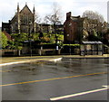 ST8499 : Town Square bus stop and shelter, Nailsworth by Jaggery