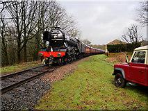 SD7914 : Flying Scotsman on the East Lancashire Railway by David Dixon