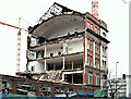 J3374 : The Orpheus Building (demolition), Belfast - January 2016(7) by Albert Bridge