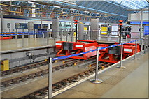 TQ3083 : End of the line, St Pancras Station by N Chadwick