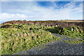 SW6243 : View east from the car park at North Cliffs by David P Howard