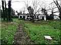 TQ3894 : Ruined building and abandoned garden, Chingford by Christine Johnstone