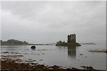 NM9247 : Scottish Castle Stalker by Samuel Pope