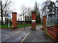 TQ3893 : Entrance to Chingford Mount Cemetery by Christine Johnstone