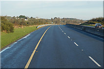 S5231 : M9 Northbound towards junction 10 by Ian S
