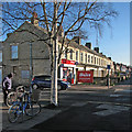 TL4656 : Cherry Hinton Road on a bright January morning by John Sutton