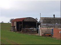 NZ2421 : Barn, Page Farm by JThomas