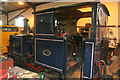 SK4151 : Golden Valley Light Railway - steam locomotive by Chris Allen