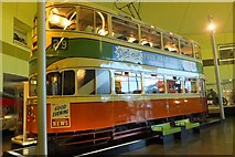 NS5565 : Glasgow tramcar, Riverside Museum by Jim Barton