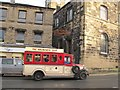 SE1408 : Tour bus in Holmfirth by Stephen Craven
