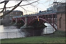 NS5964 : Tidal weir on the Clyde by Jim Barton