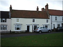 NZ2422 : Houses on West Green, Heighington by JThomas