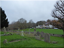 TQ5203 : St Andrew, Alfriston: churchyard (i) by Basher Eyre