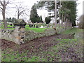 SJ2463 : The south east corner of Mold cemetery by John S Turner