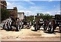 SO8218 : Cannon Film Prop, Gloucester Docks by Jeff Buck
