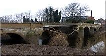 SE4843 : Tadcaster's broken bridge by Graham Hogg