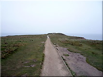 TA1281 : Path on Carr Naze by JThomas