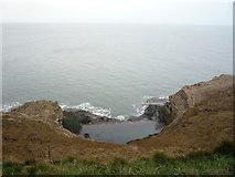 TA1281 : Rock pool below Carr Naze by JThomas