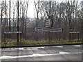 TL1814 : Roadsigns on the B653 Cory-Wright Way by Adrian Cable