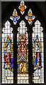 TF0761 : Stained glass window, St Wilfred's church, Metheringham by Julian P Guffogg