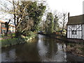 TL1714 : River Lea at Wheathampstead by Geographer