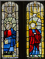 TF0761 : Medieval stained glass, St Wilfred's church, Metheringham by Julian P Guffogg