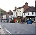 SJ6703 : Tontine Hill, Ironbridge by John Winder