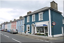 SN4562 : Coloured Houses of West Wales (15) by Nigel Mykura