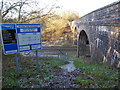 SU0281 : Trow Lane railway bridge by Vieve Forward