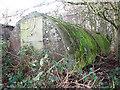 TM3294 : A Stanton air raid shelter by Evelyn Simak