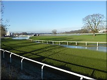 SO8455 : Worcester Racecourse by Philip Halling
