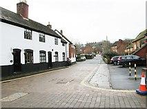 SO7875 : Dog Lane looking southwest, Bewdley, Worcs by P L Chadwick