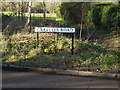 TL1312 : Cravells Road sign by Geographer
