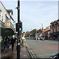 SJ8491 : Wilmslow Road, Didsbury by Virginia Knight