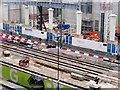 SJ8397 : Construction site for St Peter's Square Metrolink Stop (January 2016) by David Dixon