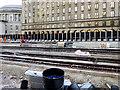 SJ8397 : Metrolink Work at St Peter's Square (January 2016) by David Dixon