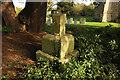 SK9061 : Churchyard cross by Richard Croft