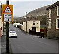 SO1502 : Warning sign facing Station Road, Brithdir by Jaggery