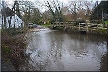 SU1734 : Winterbourne Dauntsey Ford by John Walton